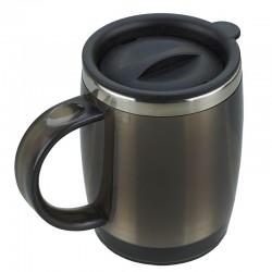 Kubek izotermiczny Barrel 400 ml, grafitowy
