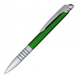 Długopis Striking, zielony/srebrny