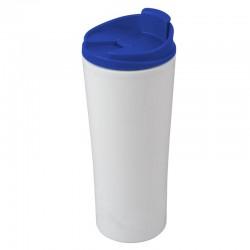 Kubek izotermiczny Tampa Bay 450 ml, niebieski/biały