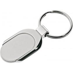 Metalowy brelok Teardrop, srebrny