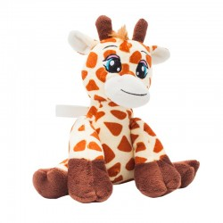 Maskotka Giraffe, brązowy/żółty