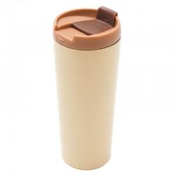 Kubek izotermiczny Tornio 450 ml, beżowy