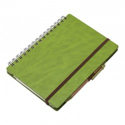 Notatnik 160x210/70k linia Granada, zielony