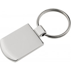 Metalowy brelok Stark, srebrny