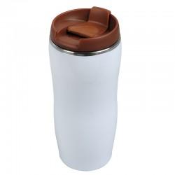 Kubek izotermiczny Astana 350 ml, brązowy/biały