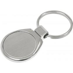 Metalowy brelok Metal Promo, srebrny