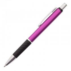 Długopis Andante, fioletowy/czarny