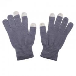 Rękawiczki Touch Control do urządzeń sterowanych dotykowo, szary