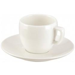 Filiżanka do espresso z talerzykiem CREMA 80ml