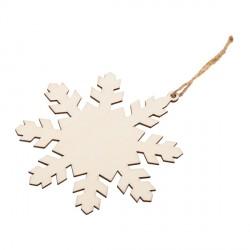 Ozdoba choinkowa Xmas Snowflake, beżowy
