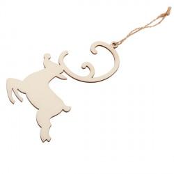 Ozdoba choinkowa Reindeer, beżowy