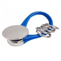 Brelok Flexi Blue, niebieski/srebrny