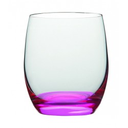 Zestaw 4 neonowych szklanek, mix Vanilla Season HATTA, 300 ml