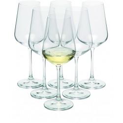 Zestaw 6 kieliszków do białego wina MORETON 6, 250 ml
