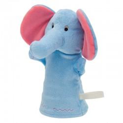 Pacynka Elephant, niebieski