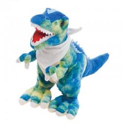 Maskotka T-Rex, niebieski/zielony