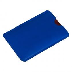 Etui na kartę zbliżeniową RFID Shield, niebieski