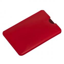 Etui na kartę zbliżeniową RFID Shield, czerwony