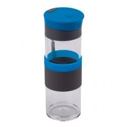 Szklana butelka Top Form 440 ml, niebieski