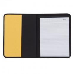 Teczka A4 Ortona, żółty/czarny