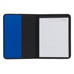 Teczka A4 Ortona, niebieski/czarny