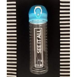 Butelka szklana Abisko, jasnoniebieski