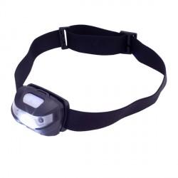 Latarka czołowa Sensor, czarny