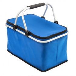 Izotermiczny kosz piknikowy Huron, niebieski