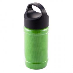 Ręcznik chłodzący w butelce Feel cool, jasnozielony