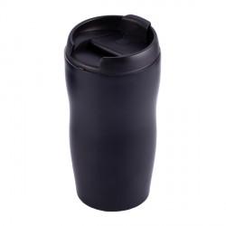 Kubek izotermiczny Tromso 250 ml, czarny