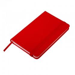 Notatnik 130x210/80k kratka Asturias, czerwony