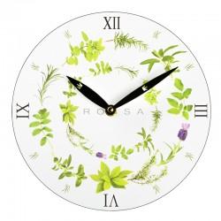 Zegar ścienny, biały