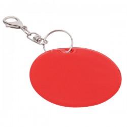 Brelok odblaskowy Reflect, czerwony - druga jakość