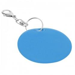 Brelok odblaskowy Reflect, niebieski - druga jakość