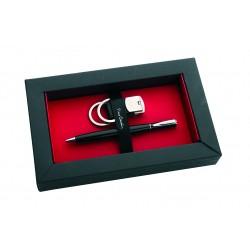 Zestaw upominkowy długopis i brelok RIVOLI Pierre Cardin