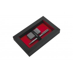 Zestaw upominkowy zapalniczka elektryczna i długopis ELECTRIC SET Pierre Cardin