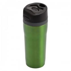 Kubek izotermiczny Winnipeg 350 ml, zielony/czarny