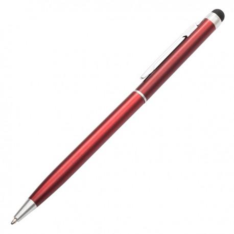 Długopis Touch Tip, czerwony