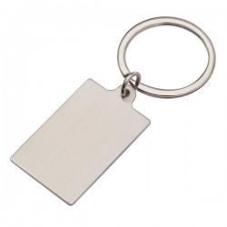 Metalowy brelok Visibile, srebrny
