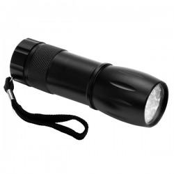 Latarka Spark LED, czarny