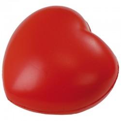 Antystresowe Heartie, czerwony, czerwony