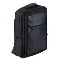 Plecak/teczka City Cyber z ochroną RFID, czarny