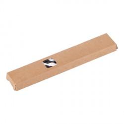 Zestaw słomek papierowych Eco Sippy, czarny