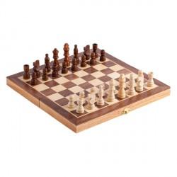 Drewniane szachy, brązowy