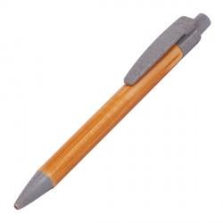 Długopis bambusowy Evora, szary