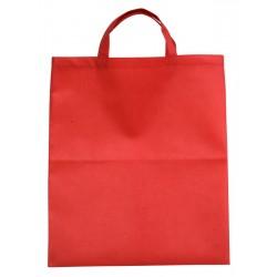 Torba eko na zakupy, czerwony