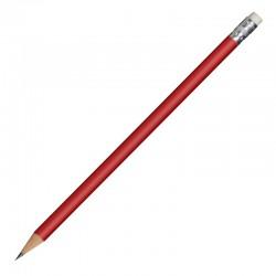 Ołówek drewniany, czerwony