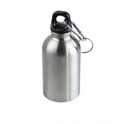 Stalowy bidon Tripping 340 ml, srebrny