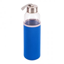 Szklana butelka Vim 500 ml, niebieski