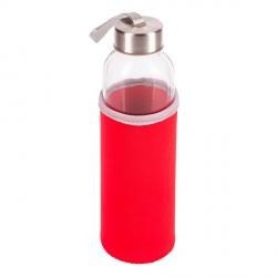 Szklana butelka Vim 500 ml, czerwony